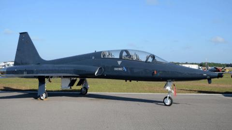 Air Force Tap plane