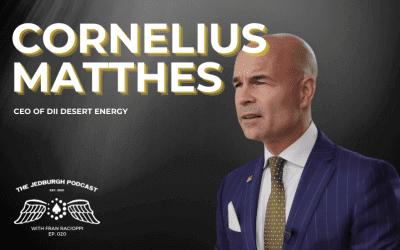 #020: Desert Energy – CEO Of Dii Desert Energy Cornelius Matthes